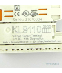 Beckhoff Potenzialeinspeiseklemme KL9110 GEB