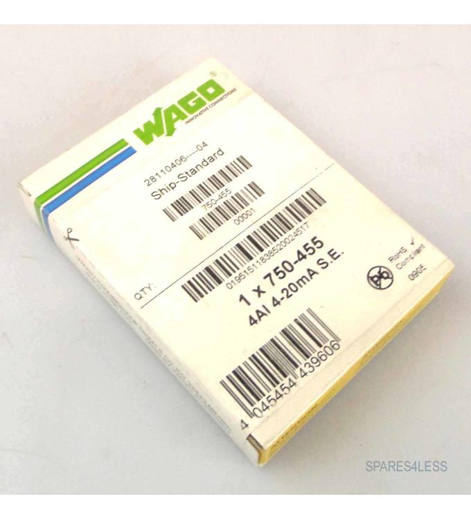 WAGO Feldbus Modul 750-455 SIE
