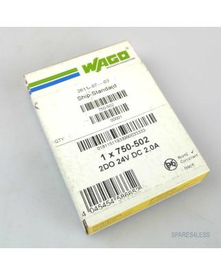WAGO Digital Ausgangsklemme ITEM-NO: 750-502 SIE