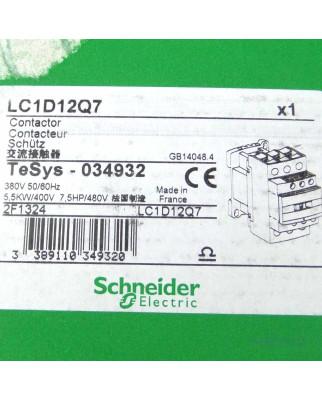 Schneider Electric TeSys Schütz LC1D12Q7 034932 OVP