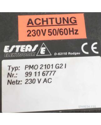 Esters Elektronik Meßanzeiger Temperatur PMO 2101 G2 I NOV