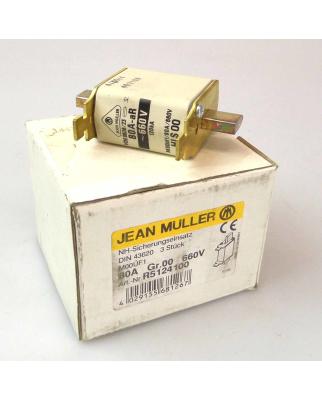 Jean Müller NH-Sicherungseinsatz R5124100 80A Gr.00...