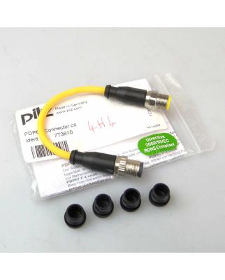 Pilz Anschlussstück PDP67 Connector cs 773610 OVP