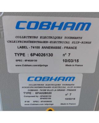 Cobham Schleifringübertrager 6P4026130 + 6PA028020 + 6P4002100 GEB