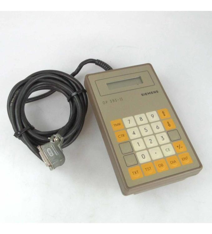 Siemens Simatic OP 393-II 6ES5 393-0UA12 GEB