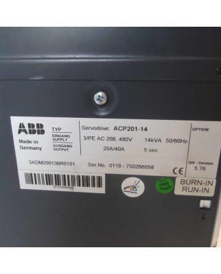 ABB Servodrive ACP201-14 3ADM200136R0101 GEB