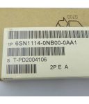 Simodrive 611 Optionseinschub Profibus 6SN1114-0NB00-0AA1 Version: A SIE