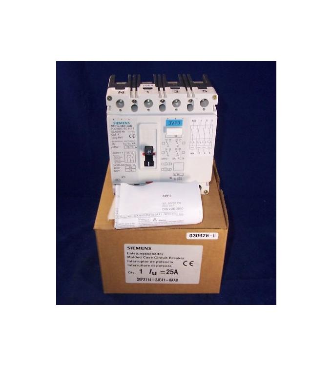 Siemens Leistungsschalter 3VF3114-2JE41-0AA0 OVP