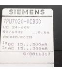 Siemens Zeitrelais 7PU7020-0CB30 OVP