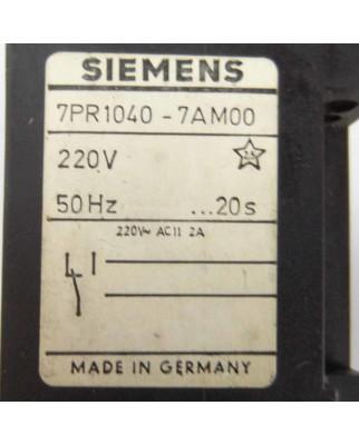 Siemens Zeitrelais 7PR1040-7AM00 GEB