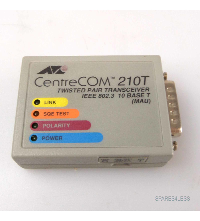 ATI centre Com 210 T twisted pair transceiver AT-210T GEB