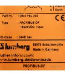 Lumberg Profibus-DP 0970 PSL 204 GEB