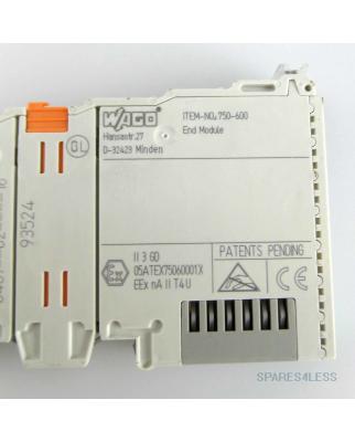 WAGO Endklemme ITEM- NO: 750-600 GEB