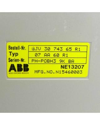 ABB Analog Output Module 07 AA 60 R1 Bestell-Nr.: GJV 30...