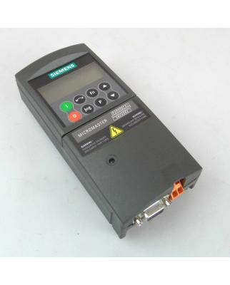 Siemens Micromaster 4 Profibus Modul 6SE6400-1PB00-0AA0 +...