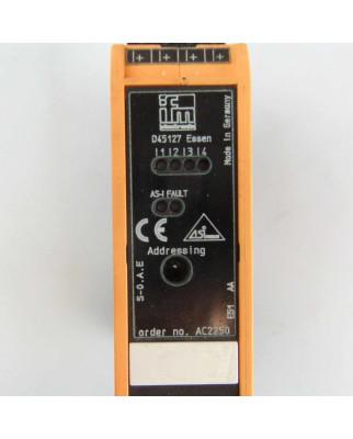 ifm AS-Interface Modul AC2250 SmartL25 4DI C GEB