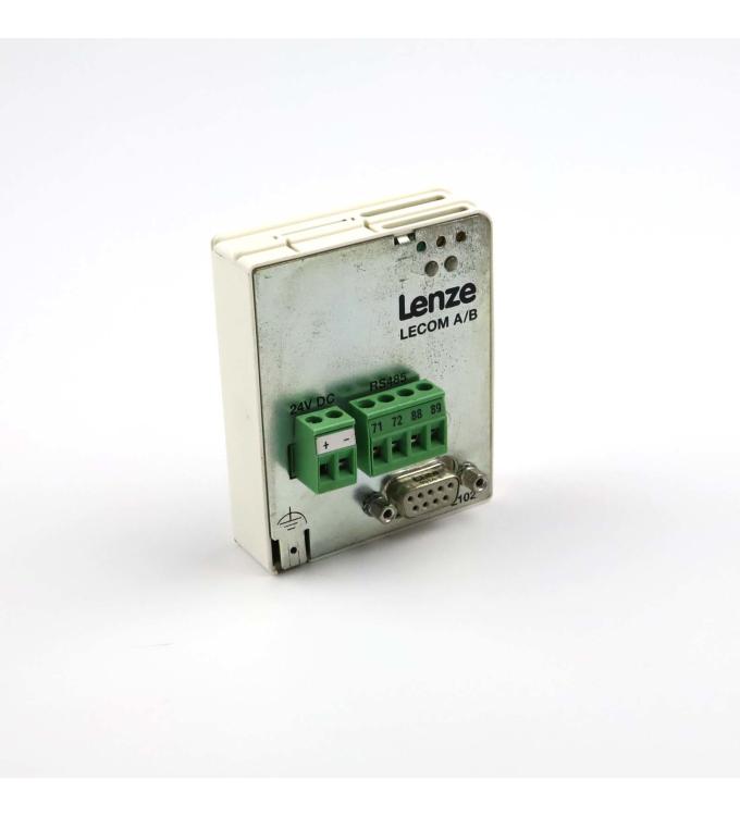 Lenze Feldbusmodul RS232/485 ID 00365665 33.2102IB.V001 GEB
