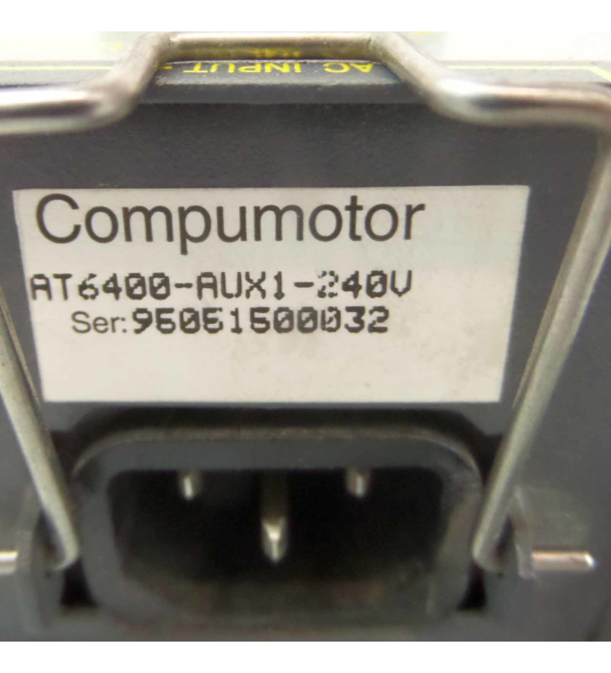 Parker Compumotor 4-Axis Indexer AT6400 AT6400-AUX1-240V GEB