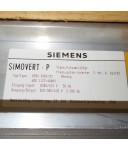 SIMOVERT P TRANSISTORPULSUMRICHTER 6SE1133-4AB00 GEB