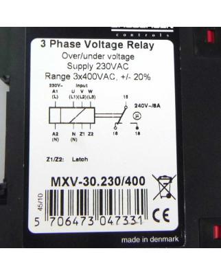 BRODERSEN 3-Phasen-Spannungswächter MXV-30.230/400 OVP