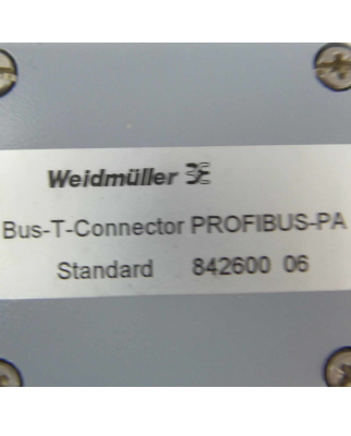 Weidmüller Bus-T-Connector Standard Profibus-PA...