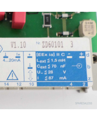 Endress+Hauser SILOMETER FXN671 NOV