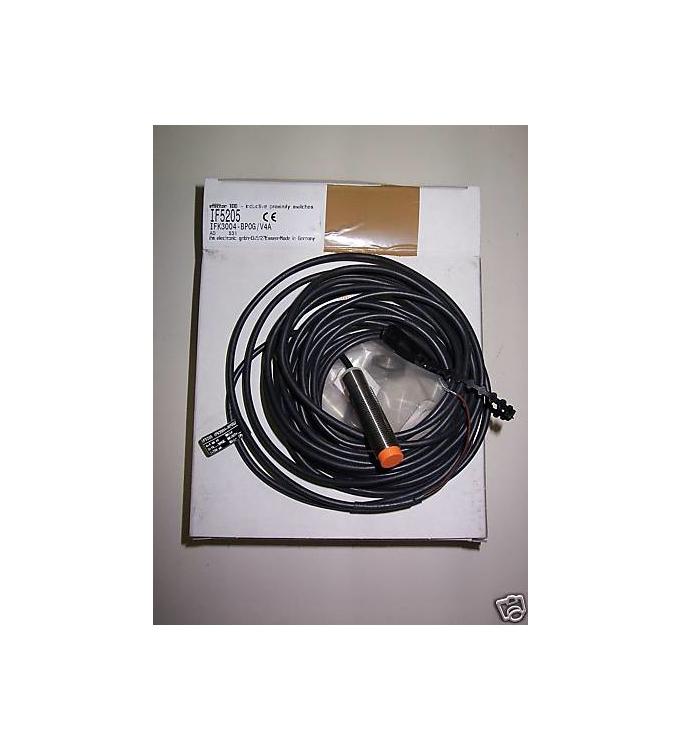 ifm efector induktiver Näherungsschalter IF5205 IFK3004-BPOG/V4A OVP