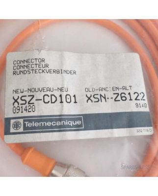 Telemecanique Connector XSZ-CD101 091420 OVP