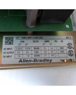 Allen Bradley AC Drive 1336 plus 1336S-BRF15-AE-DE4 Ser.D...