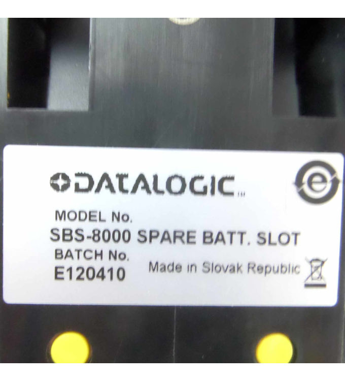 Datalogic Batterie-Slot SBS-8000 OVP