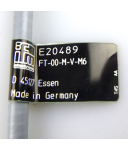 ifm electronic Reflexlichttaster FT-00-M-V-M6 E20489 OVP
