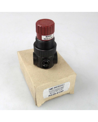 AirCom Präzisionsdruckregler R039-01AF 0,1-2bar OVP