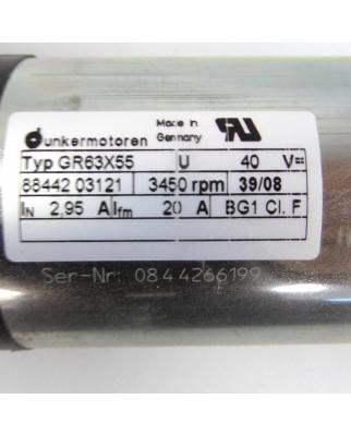 Dunkermotoren Motor GR63X55 + Asto E90R24 NOV