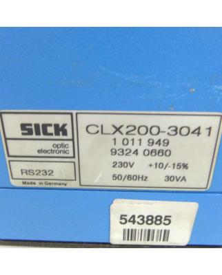 Sick Barcodescanner Netzwerkcontroller CLX200-3041...
