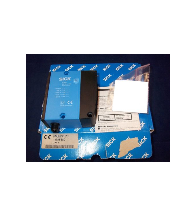 Sick Distanz Sensor DS60-P41311 1016689 OVP