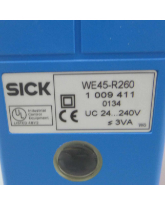 Sick Einweg Lichtschranke Empfänger WE45-R260 1009411 NOV