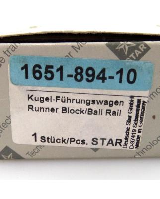 STAR Kugel Führungswagen 1651-894-10 OVP