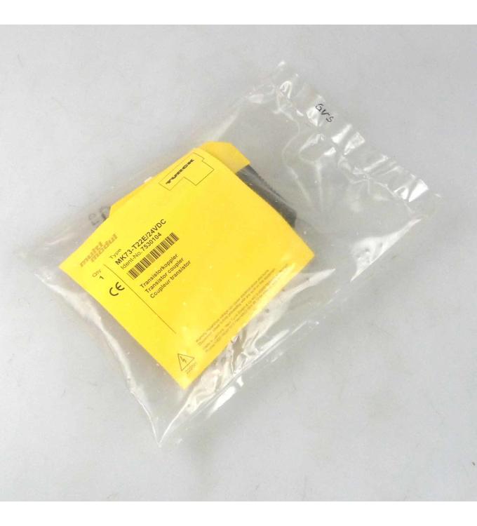 Turck Transistorkoppler MK73-T22E/24VDC 7530104 OVP