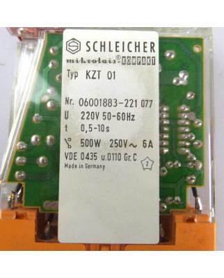 SCHLEICHER Zeitrelais KZT01 06001883-221  t=0,5-10s OVP