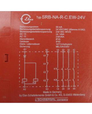 Elan Sicherheitsrelais SRB-NA-R-C.EW-24V GEB