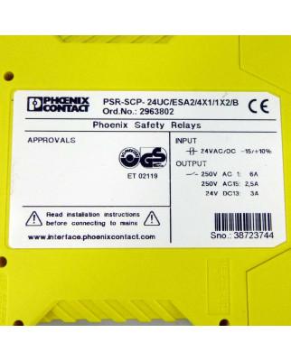 Phoenix Contact Relais PSR-SCP-24UC/ESA2/4X1/1X2/B 2963802 OVP
