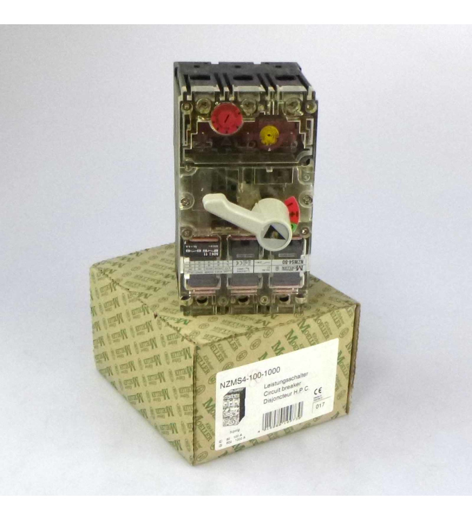 Klöckner Moeller Leistungsschalter NZMS4-80-1000 3-polig OVP