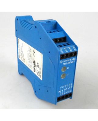 SCHLEICHER Sicherheitsschaltgerät SNE 4004KV 18815359  t=0,5s GEB