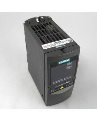 Siemens Micromaster 420 6SE6420-2AB15-5AA1 0,55kW NOV