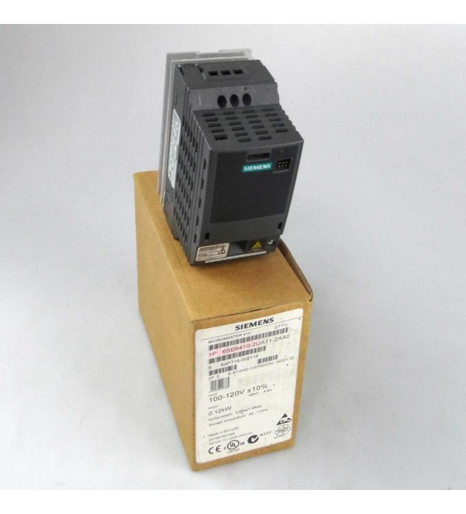 Siemens Micromaster 410 6SE6410-2UA11-2AA0 E-Stand:A03/1.02 OVP