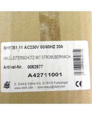 E.Dold & Söhne KG Halbleiterschütz BH9251.11 0052577 230V OVP
