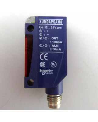 Telemecanique Optischer Näherungsschalter XUM0APSAM8 016492 OVP