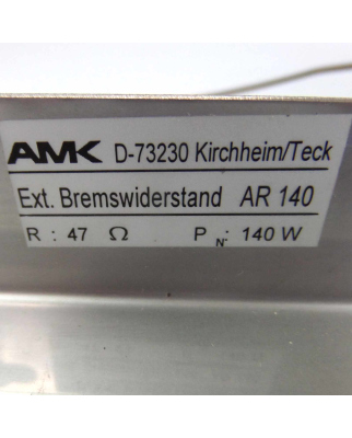 AMK AMKASYN Bremswiderstand AR 140 NOV