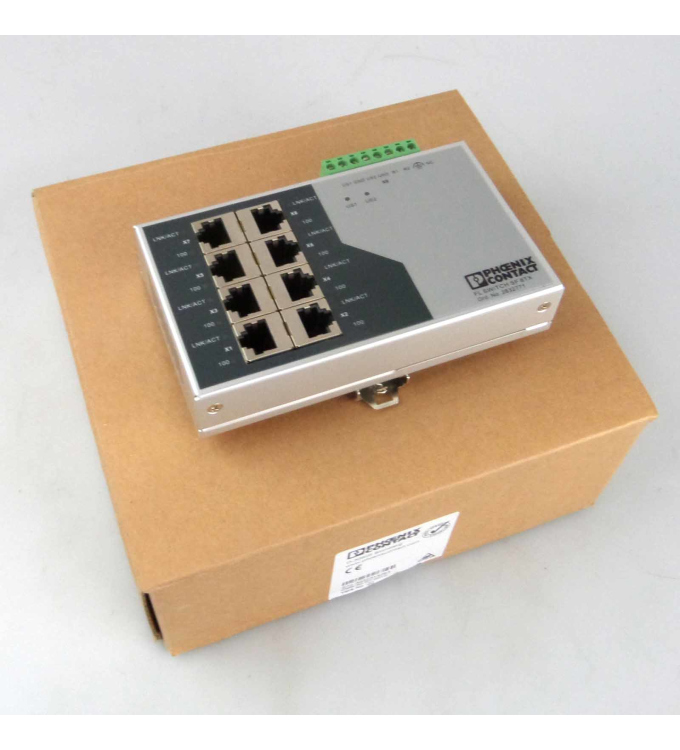 Phoenix Contact Ethernet Switch FL Switch SF 8TX 2832771 OVP