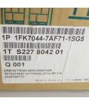 Siemens Servomotor Motor 1FK7044-7AF71-1SG5 OVP